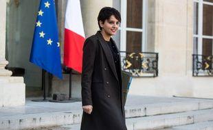 La ministre de l'Education Najat Vallaud-Belkacem le 10 février 2016