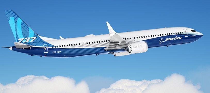 Un avion 737 Max de Boeing (illustration).