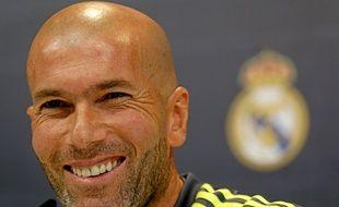 Zinédine Zidane le 30 janvier 2016.