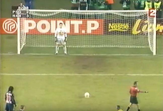 Incroyable scène au moment du penalty...