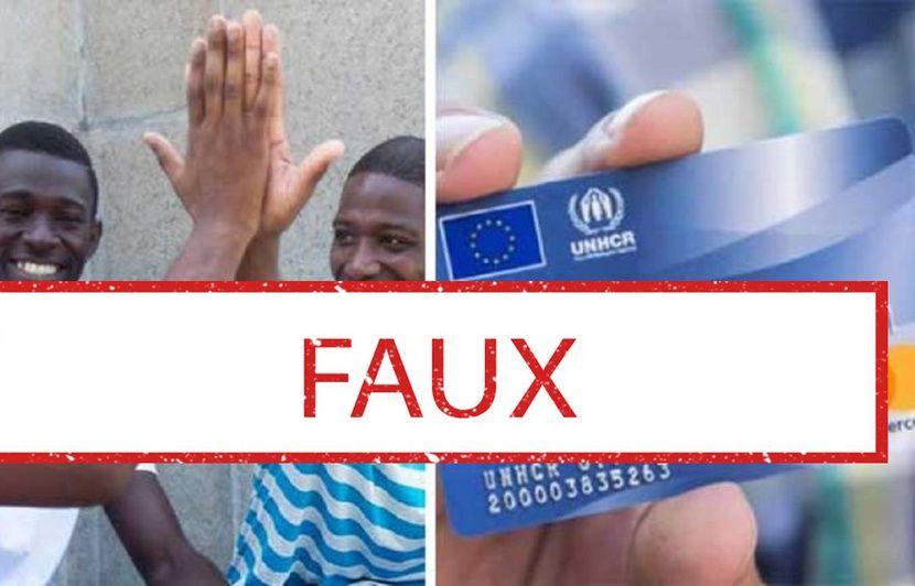 Une Carte Bleue Pour Les Migrants Finance Par George Soros LUnion Europenne Et LONU Gare Lintox