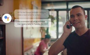 Le système de réservation automatisé Google Duplex est en phase de test dans quelques restaurants californiens.