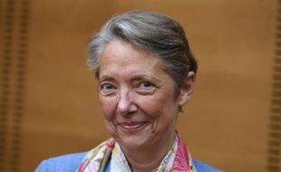 Elisabeth Borne, photographiée le 12 mai 2015 après sa nomination au poste de PDG de la RATP