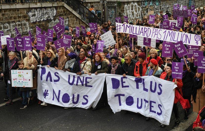 Saint-Nazaire : Face-à-face houleux entre un homme condamné pour violences et les manifestants de #NousToutes