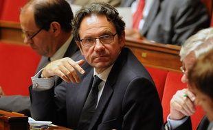 Le député UMP Frédéric Lefebvre à l'Assemblée nationale, le 12 juin 2016.