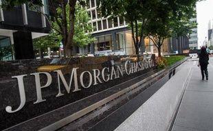 Le siège de la banque américaine JP Morgan Chase le12 août 2014 à New York