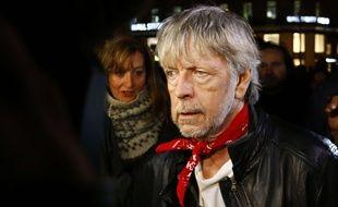 Renaud, le 7 janvier, place de la République, lors de l'hommage aux victimes de l'attaque de «Charlie Hebdo».