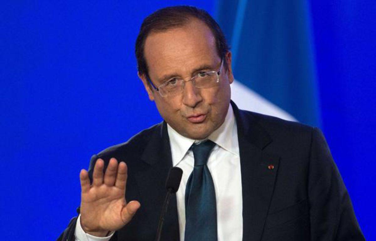François Hollande à Londres le 6 septembre. – HUSSEIN SAMIR/SIPA