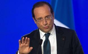 François Hollande à Londres le 6 septembre.