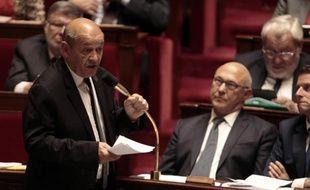 Le ministre de la Défense, Jean-Yves Le Drian, à Paris le 20 mai 2015