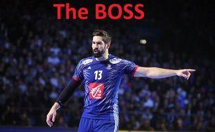 Nikola Karabatic, le patron de l'équipe de France de handball, lors du Mondial 2017 en France.