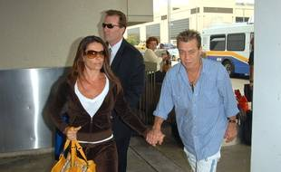 Eddie Van Halen et sa femme, Jane Liszewski