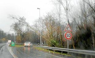 Attention aux orages dans le Bas-Rhin (Illustration