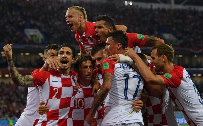 Les Croates sont fort heureux
