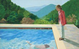 Une Toile De Hockney Vendue Pour 90 Millions De Dollars Un Record Pour Un Artiste Vivant