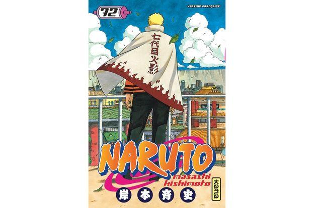 Couverture du 72ème et dernier tome de «Naruto»