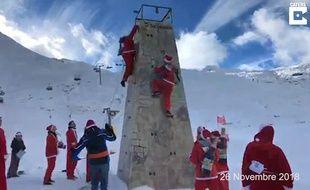 Le concours du meilleur Père Noël 2018, en Suisse.