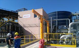 Alteo inaugure à Gardanne une installation lui permettant d'être aux normes sur l'environnement.