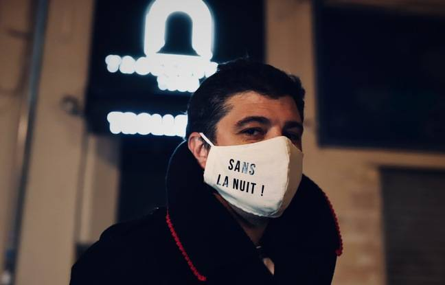 Anthony Pappalardo, eventeuse, témoigne dans la websérie « Sans la nuit ».