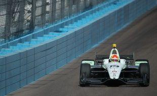 Le pilote brésilien Pietro Fittipaldi lors d'une course en Indycar, le 6 avril 2018 à Phoenix (photo d'illustration).