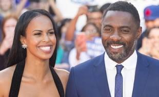 Le comédien Idris Elba et sa compagne au Festival du film de Toronto