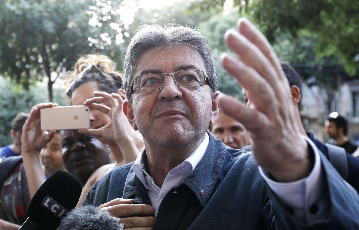 Jean-Luc Mélenchon, le 18 juin 2017 à Marseille. – Claude Paris/AP/SIPA
