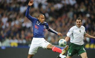 Thierry Henry contre l'Irlande en 2009.