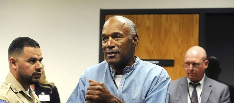 O.J. Simpson lors de son audience à la maison d'arrêt de Lovelock (Nevada), le 20 juillet 2017.