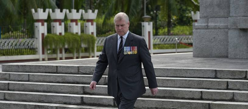 Le Prince Andrew à Kuala Lumpur, en Malaisie, le 26 juin 2016.