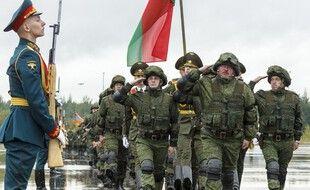 Lors des exercices militaires entre Russie et Biélorussie.