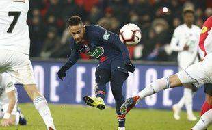 Neymar s'est blessé contre Strasbourg.