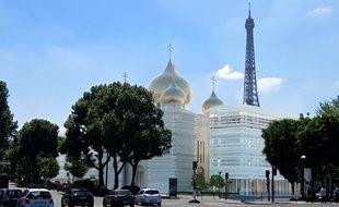 Pour l'emplacement ce cette future église orthodoxe, on peut difficilement faire mieux… Elle se situera à deux pas de la tour Eiffel.