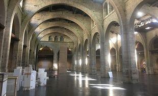 La grande nef du CAPC-Musée d'art contemporain, à Bordeaux.