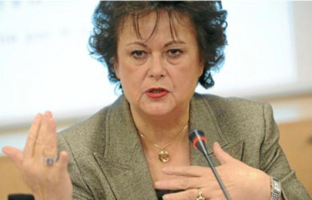 La présidente du Parti chrétien démocrate appelle au boycott de Benetton. –  WITT / SIPA