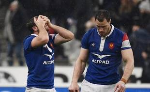 Lopez et Lauret ont du mal à comprendre comment la France a laissé échapper la victoire face au Pays de Galles.