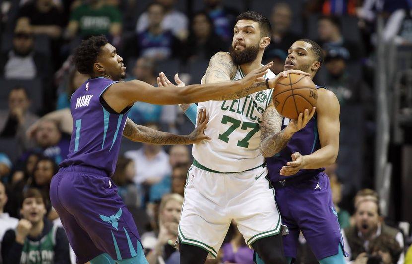 NBA : Peu utilisé par les Boston Celtics, Vincent Poirier ne panique pas et « attend son heure »