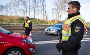 (Illustration) Les policiers allemands ont procédé à un contrôle routier assez surprenant sur l'autoroute A44, dans l'ouest du pays.
