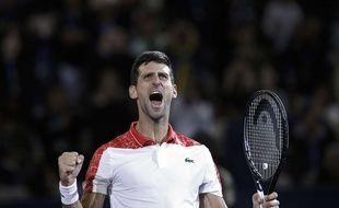 Novak Djokovic a remporté le tournoi de Shanghai, ce qui le rapproche d'un retour à la place de numéro 1 mondial, le 14 octobre 2018.