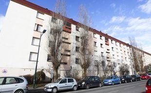 Toulouse, le 31 janvier 2013. Immeubles dans le quartier des Izards.