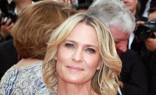 L'actrice et réalisatrice Robin Wright au Festival de Cannes