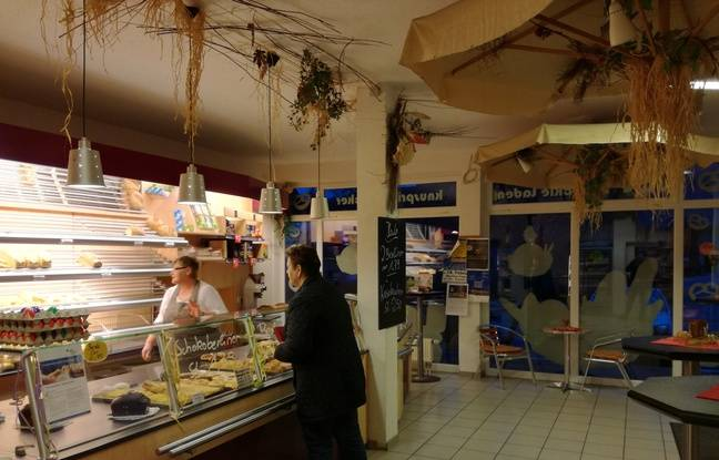 Dans la boulangerie d'Eschbach, le sujet n'est pas vraiment un sujet de discussion habituel.