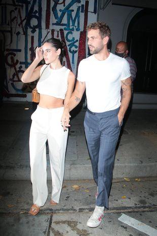 Natalie Joy et Nick Viall, le 1er septembre, à Los Angeles.