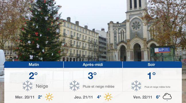 Météo Saint-Etienne: Prévisions du mardi 19 novembre 2019 - 20minutes.fr