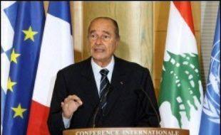 Le Liban, en pleine crise politique et économique, a engrangé les promesses d'aide financière massive lors d'une conférence jeudi à Paris qui a aussi permis à la communauté internationale d'afficher son soutien au gouvernement pro-occidental de Fouad Siniora.