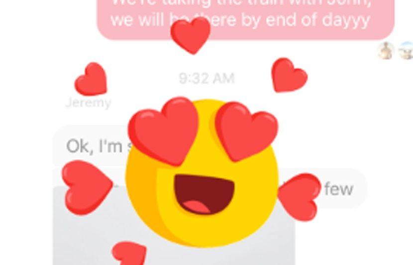 Facebook Grr Waouh Haha Cœur Mentions Et Reactions S Invitent Sur Messenger