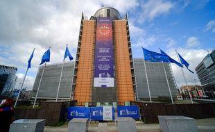 La Commission européenne, à Bruxelles, le 13 mars 2020.