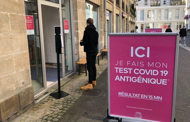 Une pharmacie nantaise a ouvert un local spécifique aux tests antigéniques.