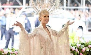 Céline Dion lors de la soirée du Met Gala en mai dernier