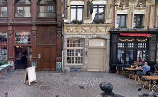 La brasserie Monsieur Jean à Lille.