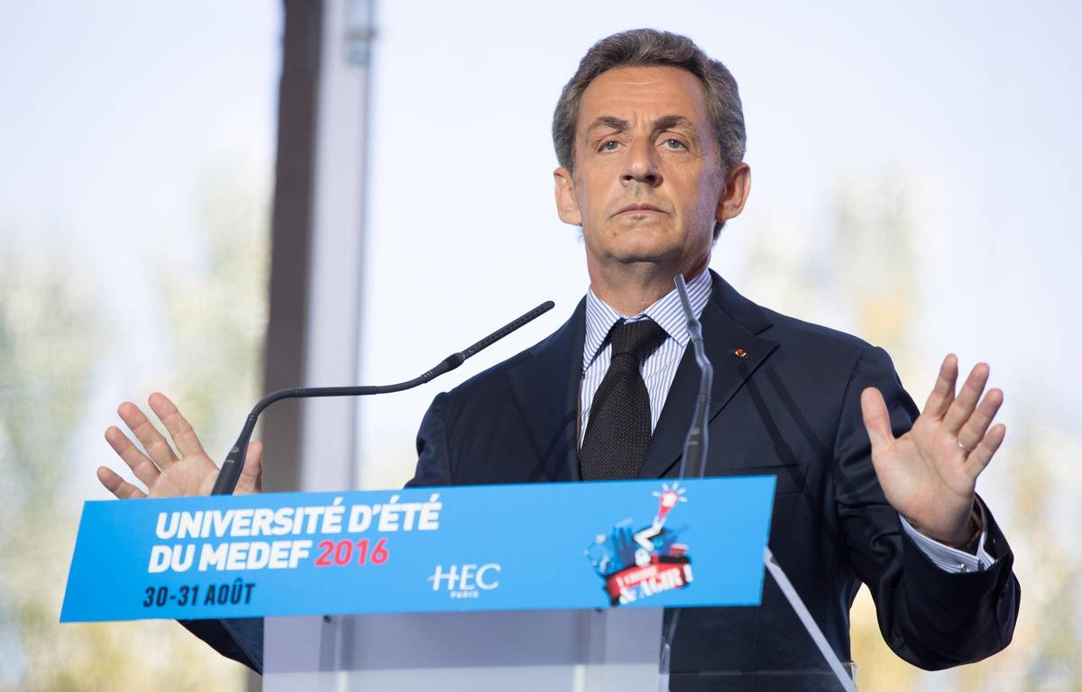 Nicolas Sarkozy, candidat à la primaire des Républicains cumule les démélés judiciaires.  – ROMUALD MEIGNEUX/SIPA